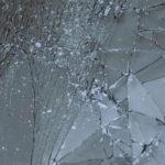 ひび割れたガラス